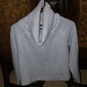 ZARA Baby Blue Turtleneck